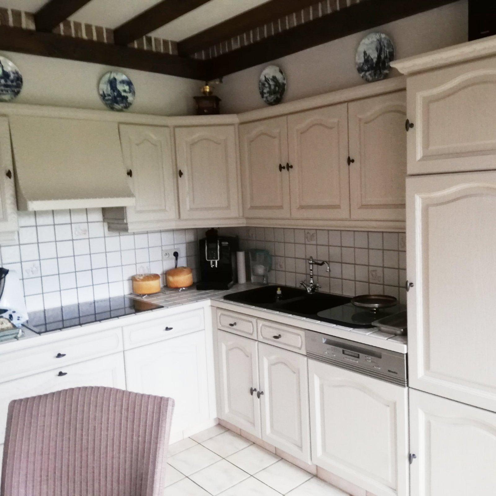 Keuken zandstralen