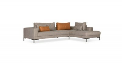 Design On Stock AIKON LOUNGE hoeksalon 1-arm & element poef
