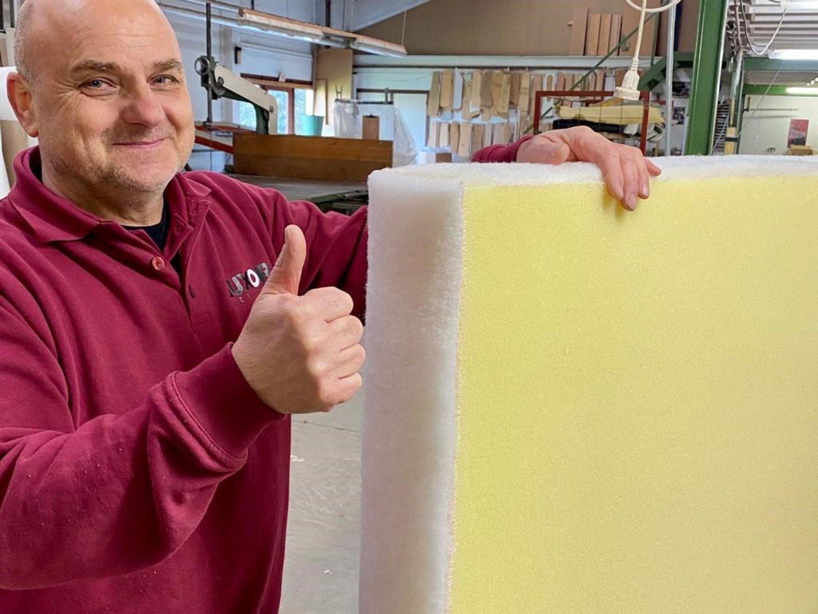 Nieuwe vullingen in dry-foam specifiek voor outdoo